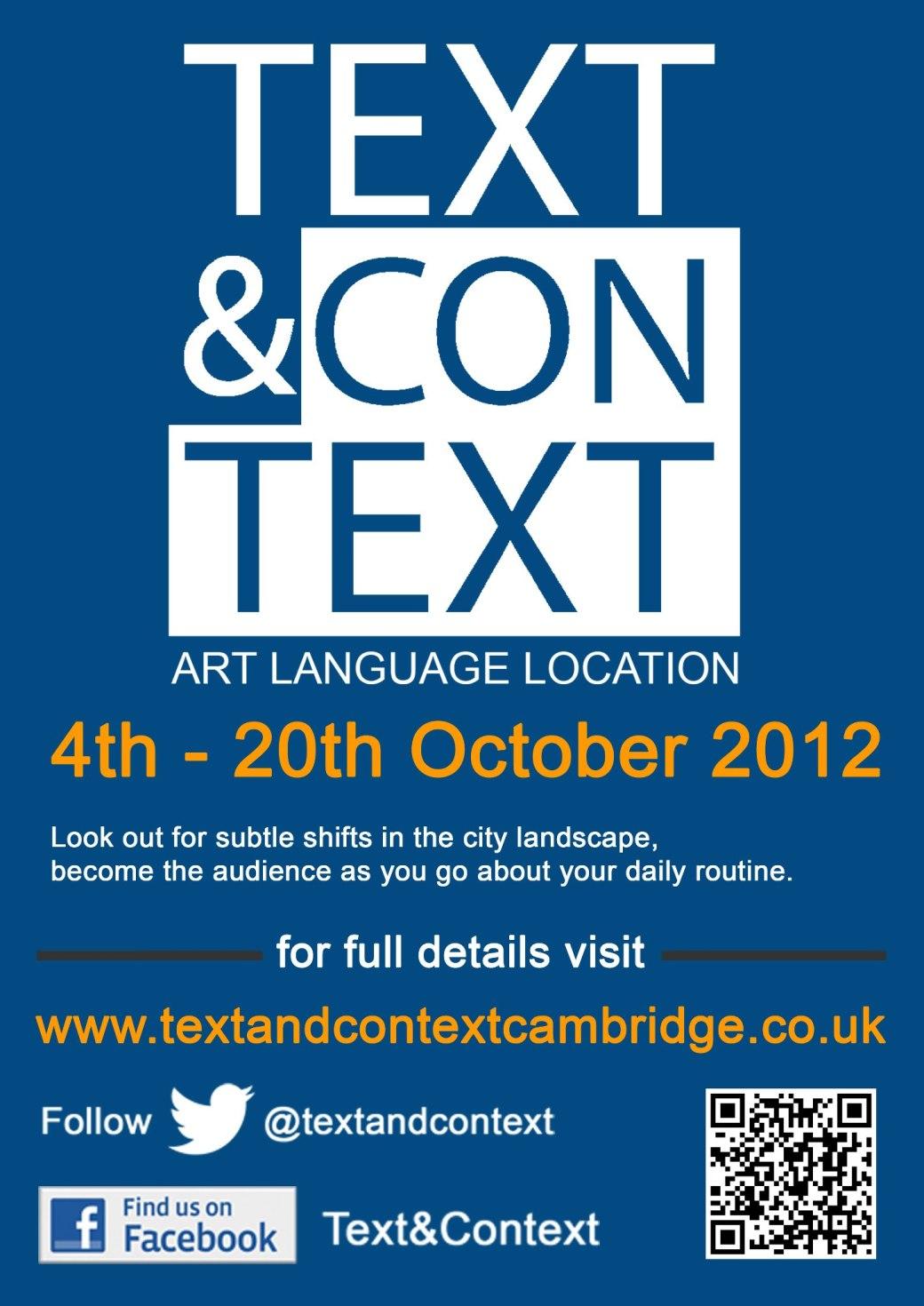 Text&Context 2012
