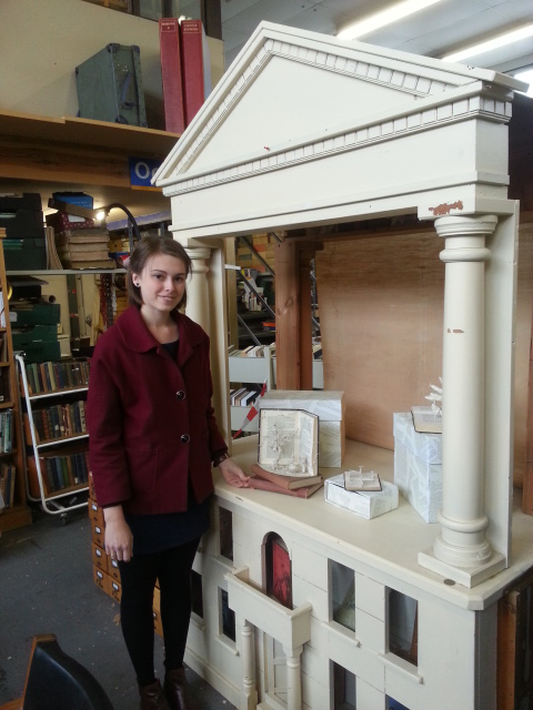Emma Taylor installs at Plurabelle Books