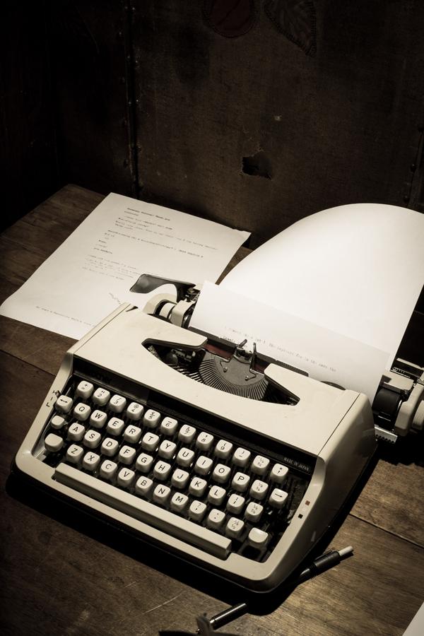 George Agnew Typewriter