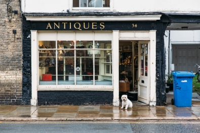 Gabor Cossa Antiques on Trumpington Street