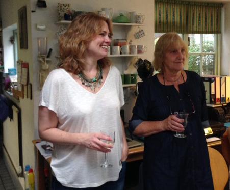 Teresa Harrison and Rosemary Catling