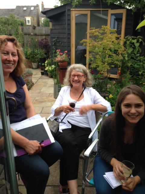 Rebecca Ilett, Ruth Moushabeck and Sandra Martins