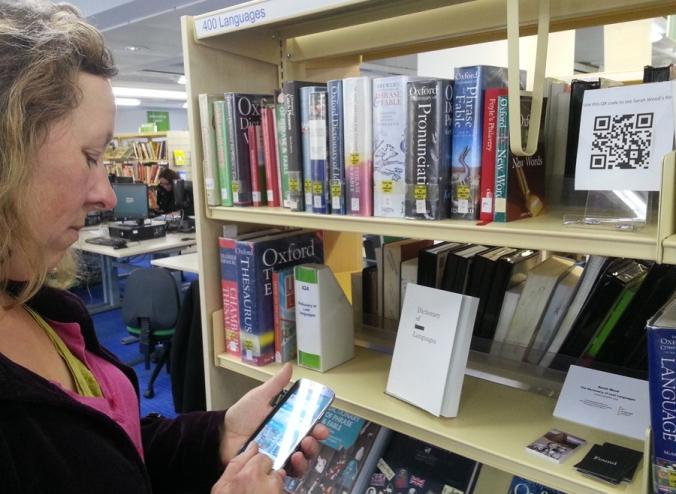 Sarah Wood at Central Library 3