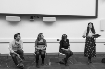 Tom Morton, Rebecca Ilett, Catherine Cleary and Felicity Barrow