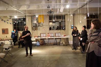 Robert Good introduces the evening